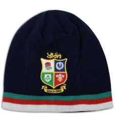 2e43fc45c3e British   Irish Lions 2017 Acrylic Beanie Fleece Hat Peacoat Rugby  Pictures