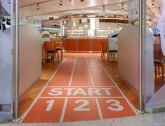 On your marks, get set, GO! Erdinger Sports Bar in Germany trusted Altro VM20 to keep their clientèle safe on their way to (and from) the bar.
