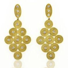 Some Sholdt Design earrings! Sholdt Design @stevequickjeweler