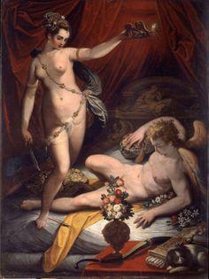 Matrimonio di Amore e Psiche di Abraham Bloemaert (c. 1595) #art #enicultura #amoreepsiche