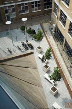 New modern landscape design urban architecture Ideas Landscape And Urbanism, Modern Landscape Design, Landscape Architecture Design, Landscape Plans, Modern Landscaping, Urban Landscape, Landscaping Ideas, Landscape Stairs, Patio Ideas