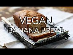 VEGAN BANANA BREAD - oil, gluten & refined sugar free, easy HCLF recipe....