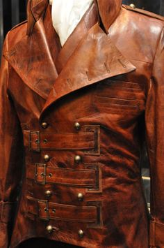 Men's leather jackets certainly are a crucial component to each and every man's wardrobe. Men require outdoor jackets for several moments as well as some climate conditions. Men's Jacket Image. Steampunk Jacket, Steampunk Costume, Steampunk Clothing, Steampunk Fashion, Victorian Coat, Gothic Men, Kleidung Design, Jacket Images, Steampunk Accessories