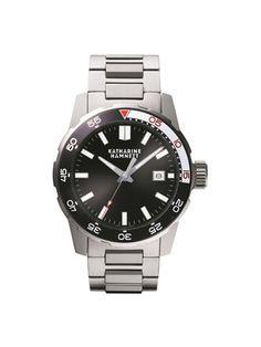 MEN'S WATCH: KH20B5B-34  KATHARINE HAMNETT's very first diver's watch collection.  ¥32,550