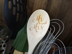 Mr. and Mrs. Wooden Spoon