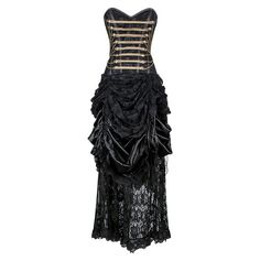 VG-19251 - Steampunk Corset Dress