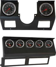 Make gauge installation simple and clean with Auto Meter's direct fit dash replacement panels. Their direct fit dash replacements panels for the Wrangler YJ Jeep come complete with wiring harness and gauges for a simple swap of the marginal factory instruments.