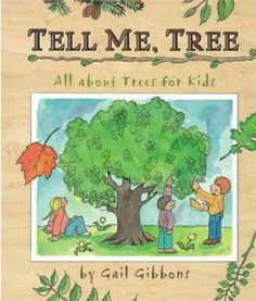 Describes different kinds of trees and how to identify them, presents the many parts of a tree, inside and out, with detailed cutaway illustrations and labels, and includes an explanation of photosynt