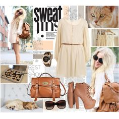 """""""brown"""" by sasskia on Polyvore"""