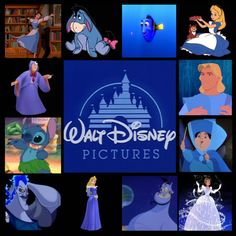 """""""Blue Disney"""" by nightwatchman54 ❤ liked on Polyvore"""