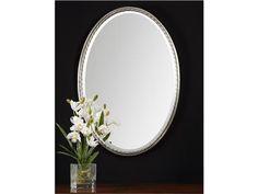 Uttermost Casalina Nickel Oval Mirror 01115 #GladhillFurniture #Accessories #Furniture
