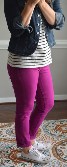 Dear Stitch Fix Stylist - This is me! (Love the colored pants)