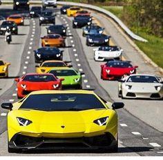 Lamborghini attack squadron