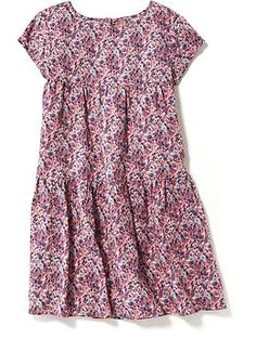 c4d924b870f7 Tiered Swing Dress for Girls. Swing DressGirls Easter DressesGirls  DressesKidsMaternity ...