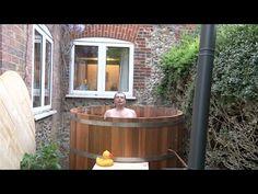 How to build a Cedar Wood Hot Tub - YouTube