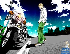 Onizuka was my fav. male character, he's a rebel, and with bad reputation, his proffession..... teacher. the GTO story was cool, epic, extraordinary, and.. ecchi! i know if this is an old manga and anime