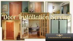 Top Locksmith Service is proficient in installing all types of doors in commercial spaces as well as residential homes. Top Locksmith Service is a highly respected company that has provided Washington DC area with the finest doors installation and repair for many years. They can customize all your needs and find the picture-perfect door for your place and install it for you. Their technicians are specialized in making your office or home look flawless