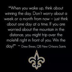 Drew Brees #9 N.O. Saints 2014 Season