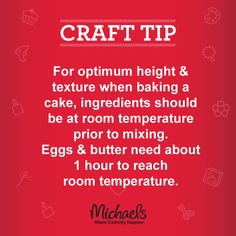 Bake the perfect cake with this simple tip & shop for your supplies on the link