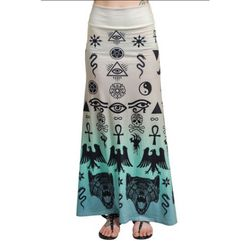 Cobalt Heights - Too Fast Hella Maxi Skirt - Occult, $59.00 (http://www.cobaltheights.co.nz/products/too-fast-hella-maxi-skirt-occult.html)
