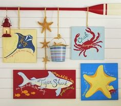 Nautical Wall Decor 50 Nautical Wall Decals by www.