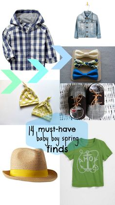 @Marisa Bevilacqua-Evans for mac and cal!!!!!!!  must-have baby boy spring finds via Babble