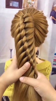 Cute Simple Hairstyles, Easy Hairstyles For Long Hair, Braids For Long Hair, Pretty Hairstyles, Girl Hairstyles, Braided Hairstyles, Hair Up Styles, Medium Hair Styles, Natural Hair Styles