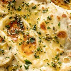 The Best Buttery Garlic Naan Bread Recipe - Cafe Delites Herb Butter, Butter Chicken, Garlic Butter, Dijon Chicken, Butter Shrimp, Garlic Parmesan, Oven Baked Chicken, Baked Chicken Breast, Crispy Chicken