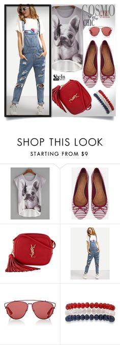 """""""SheIn #9"""" by almedina-86 ❤ liked on Polyvore featuring Yves Saint Laurent, Christian Dior, Kim Rogers and shein"""