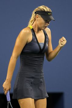 Maria Sharapova I want her outfit AND I want my body to look like that in the outfit!