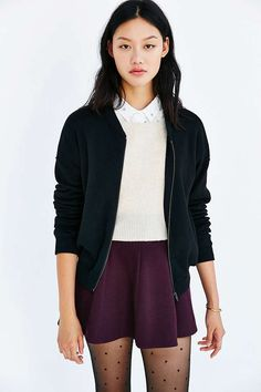 Lucca Couture Varsity Bomber Jacket - Urban Outfitters