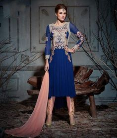 Show your #ethnic style at any #party with #Designer Palazzo #SalwarSuits. Shop them here: http://www.shoppers99.com
