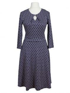 Damen Jerseykleid, blau taupe von Egerie Paris bei www.meinkleidchen.de