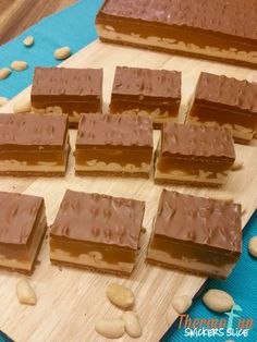 Snickers Slice Recipe - Wicked Wednesday - ThermoFun | ThermoFun | Thermomix Recipes & Tips