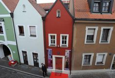 Eh'haeusl Main-At just 8ft wide, this is the world's smallest hotel