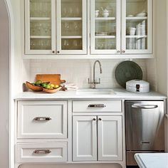 Butler's Pantry Ideas - Transitional - kitchen - Murphy & Co. Design