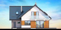 Projekt domu Galilea BIS 133,75 m2 - koszt budowy - EXTRADOM