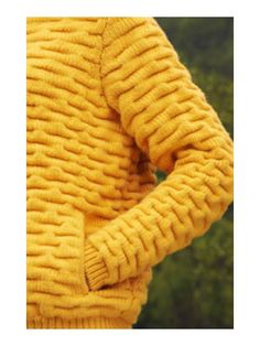"The ""Wave"" Stitch. An exclusive #EricBompard creation. #yellow www.eric-bompard.com"