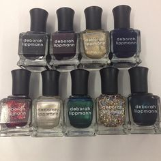 Deborah Lippmann Nail Polish- perfect colors for fall/winter