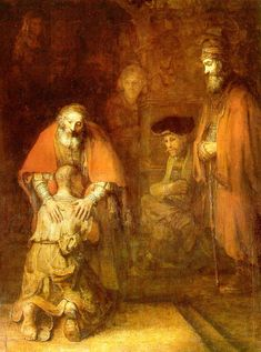 Rembrandt - The return of the prodigal son (c. 1662)