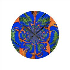 #Vintage #Fusion Hakuna Matata Fusion #Designer #Graph #Wall #Clock Gifts #hAKUNA #mATATA #hAKUNAmATATA