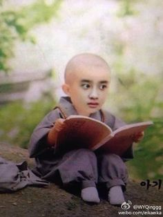 """I'm speechless Kyungsoo be like reading a book""""how to cook""""for all the military soldier in there Kyungsoo, Exo Chanyeol, Meme Faces, Funny Faces, K Pop, Exo Memes Funny, Funny Sms, Funny Humor, Pokerface"""
