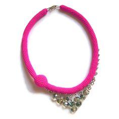 ΗΡΑ - crochet necklace - Teresa Degleri