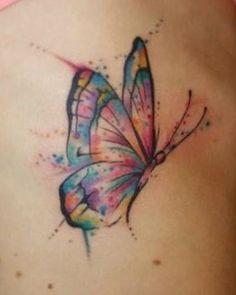 Butterfly tattoo, semicolon butterfly tattoo, small butterfly tattoo, m Cover Up Tattoos, Foot Tattoos, Body Art Tattoos, Small Tattoos, Sleeve Tattoos, Small Colorful Tattoos, Butterfly Tattoo On Shoulder, Small Butterfly Tattoo, Butterfly Tattoo Designs