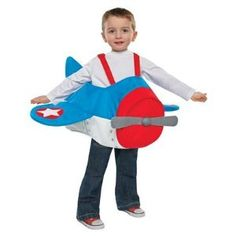 Toddler Costume Airplane 2T-3T