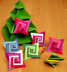 Origamipage - Spiral Stern