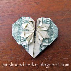 Muslin and Merlot: Dollar Hearts