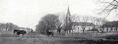 The church of St. Hubert where my relatives were baptized, married, and held funerals.  The church no longer stands.  It was burned in the ethnic cleansing of Germans following WWII.