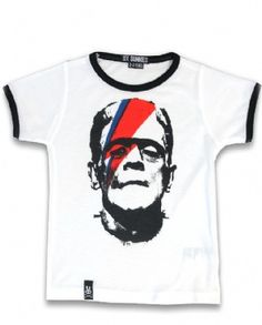 FRANKEN BOWIE, Six Bunnies Kids, Kid tees at Switchblade Clothing
