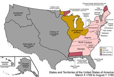 US Map that shows how the US grew. My students were cheering when new states became part of the union! What a great interactive visual for American History.